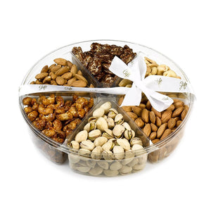 Large Gift Kosher Tray with quality assorted nuts