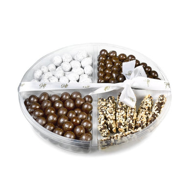 Gift Kosher Tray with a delectable assortment of chocolates