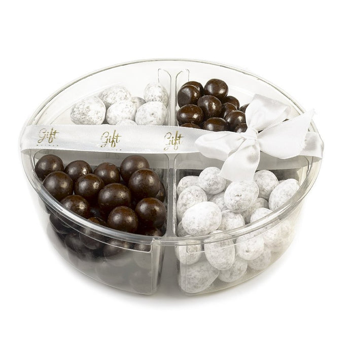Small Gift Kosher tray with Black and white Chocolate's