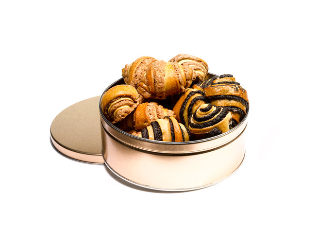 Rugelach Gift Tin by Gift Kosher