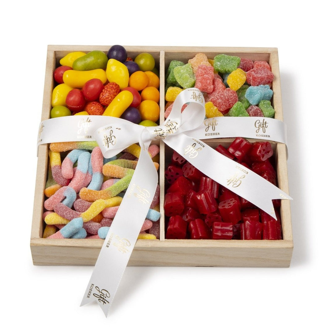 Wooden Candy Tray by Gift Kosher