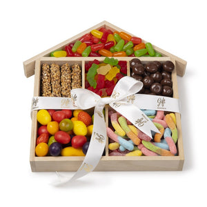 Chocolate & Candies House Gift Tray by Gift Kosher