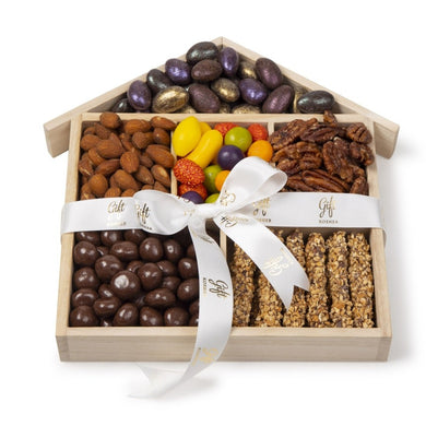 Chocolate & Nuts House Gift Tray by Gift Kosher
