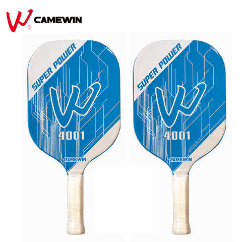1 Piece Pickleball Paddle Racket CAMEWIN Brand Professional Pickleball Racket With Bag (Colour: Blue White)