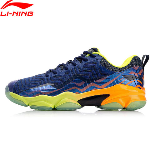 Li-Ning Men SONIC BOOM KNIT Professional Badminton Shoes LN BOUNSE+ Cushion LiNing Wearable Sports Shoes Sneakers AYZN011 XYY073