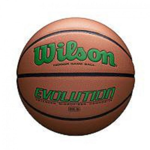 Wilson Evolution Intermediate Size Game Basketball-Green