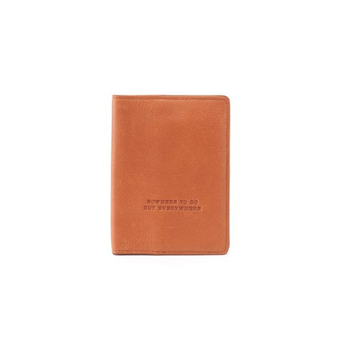 Hobo Quest Passport Holder - Natural