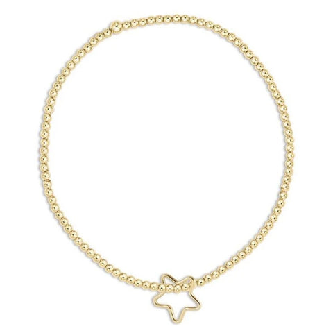 Enewton 2mm Gold Star Charm Bracelet Bracelets in Default Title at Wrapsody