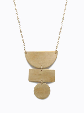 Able Totem Necklace Necklaces in  at Wrapsody
