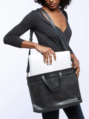 Able Elsabet Work Tote - Black