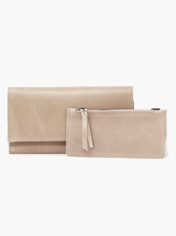 Able Debre Deluxe Wallet in multiple colors Wallets in Fog at Wrapsody