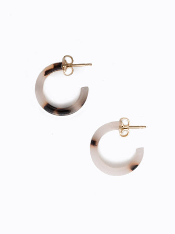 Able Iris Hoop Earrings Earrings in  at Wrapsody