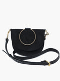 Able Fozi Slim Satchel Bag in multiple colors Handbags in Black at Wrapsody