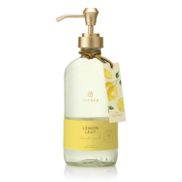 Thymes Large Hand Wash in multiple scents Home Care in Lemon Leaf at Wrapsody