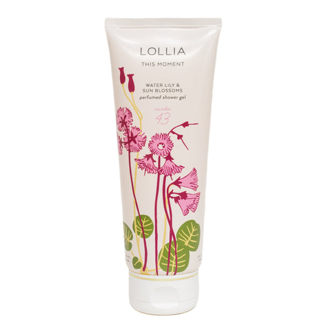 Lollia Shower Gel This Moment Bath & Body in  at Wrapsody