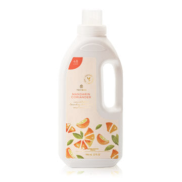 Thymes Laundry Detergent 32 oz in multiple scents Home Care in Mardarin Corian at Wrapsody
