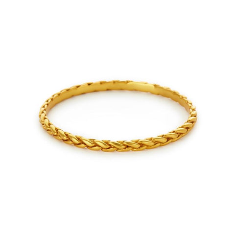 Julie Vos Monterey Bangle Gold - Small