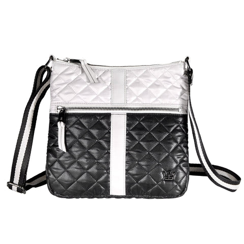Oliver Thomas Kitchen Sink Cell Crossbody in multiple colors Handbags in Smoke/Blk at Wrapsody