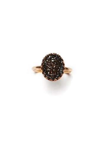 Able Druzy Ring Rings in  at Wrapsody
