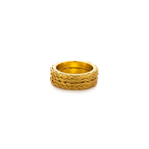 Julie Vos Penelope Stacking Ring Set - Size 8