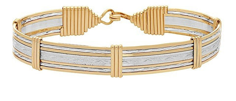 Ronaldo Inner Beauty Bracelet Wide Bracelets in 8 at Wrapsody