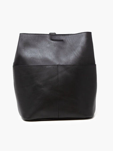 Able Selam Backpack Handbags in Black at Wrapsody