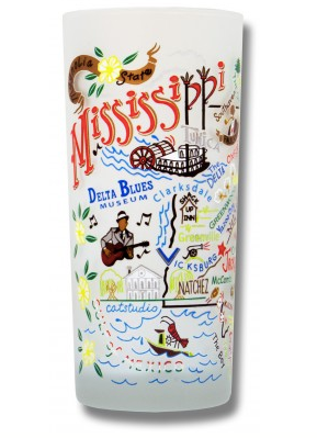 Catstudio Glass - Mississippi Drinkware in  at Wrapsody