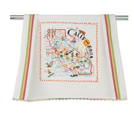 Catstudio Dish Towel - California Kitchen Towels in  at Wrapsody