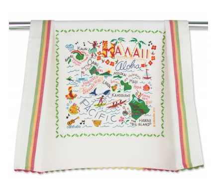 Catstudio Dish Towel - Hawaii