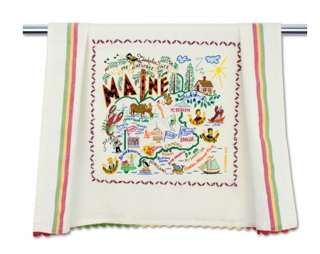 Catstudio Dish Towel - Maine Kitchen Towels in  at Wrapsody