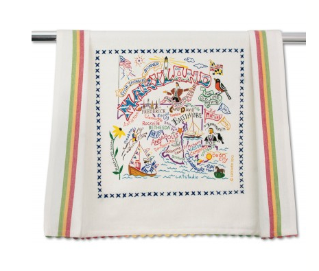 Catstudio Dish Towel - Maryland Kitchen Towels in  at Wrapsody