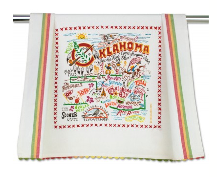 Catstudio Kitchen Towel - Oklahoma