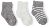 Barefoot Dreams CozyChic Lite Infant 3 Pack Sock Set