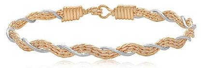 Ronaldo A Mother's Love Bracelet in Gold and Silver Bracelets in  at Wrapsody