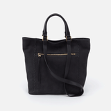 Hobo Ballad Black Leather Tote Bag Totes in  at Wrapsody