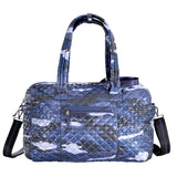 Oliver Thomas Kitchen Sink Duffle in multiple colors Travel Accessories in Blue Camo at Wrapsody