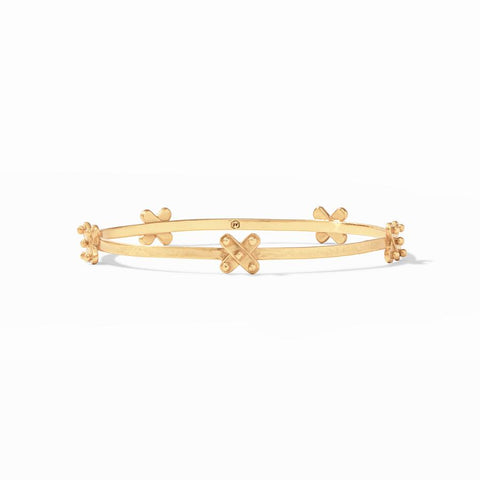 Julie Vos Soho Stacking Bangle Bracelets in Gold at Wrapsody