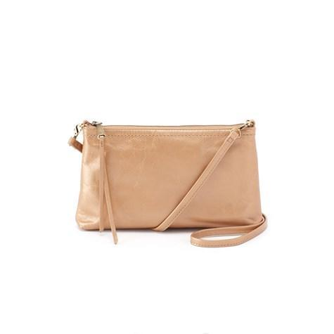 Hobo - Darcy Convertible Cross-Body Handbag, Gold Dust