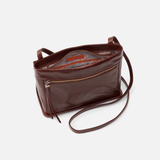 Hobo Lexie Chocolate Handbags in  at Wrapsody