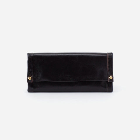 Hobo Fable Wallet in Black Wallets in  at Wrapsody