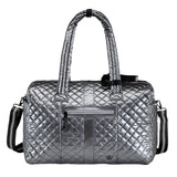 Oliver Thomas Kitchen Sink Duffle in multiple colors Travel Accessories in Gunmetal at Wrapsody