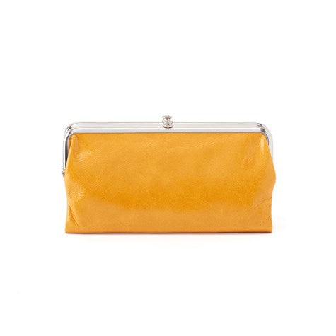 Hobo Lauren Wallet Amber