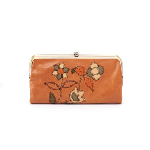 Hobo Lauren Leather Wallet - Earth Floral