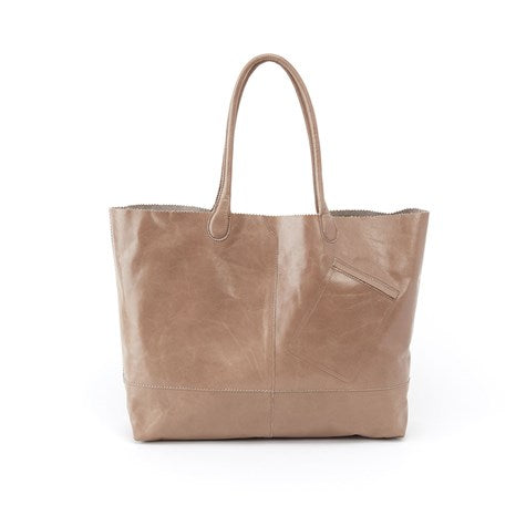 Hobo Renegade Leather Tote - Cobblestone