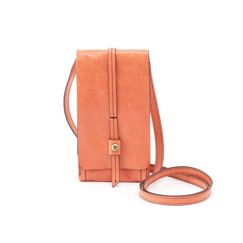 Hobo Token Crossbody Wallet - Dusty Coral