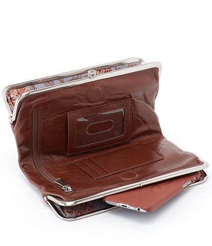 Hobo Lauren Wallet - Woodlands