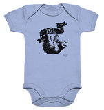 Live Slow Faultier Baby Body Baby Bodysuite - SLOTH & friends
