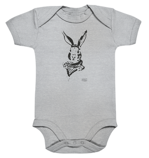 Hase mit Halstuch Baby Body Baby Bodysuite - SLOTH & friends