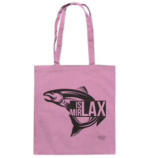 Is mir Lax - Jutebeutel Baumwolltasche - SLOTH & friends