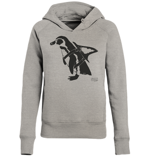 PinguHai - Frauen Kapuzenpulli Ladies Organic Hoodie - SLOTH & friends
